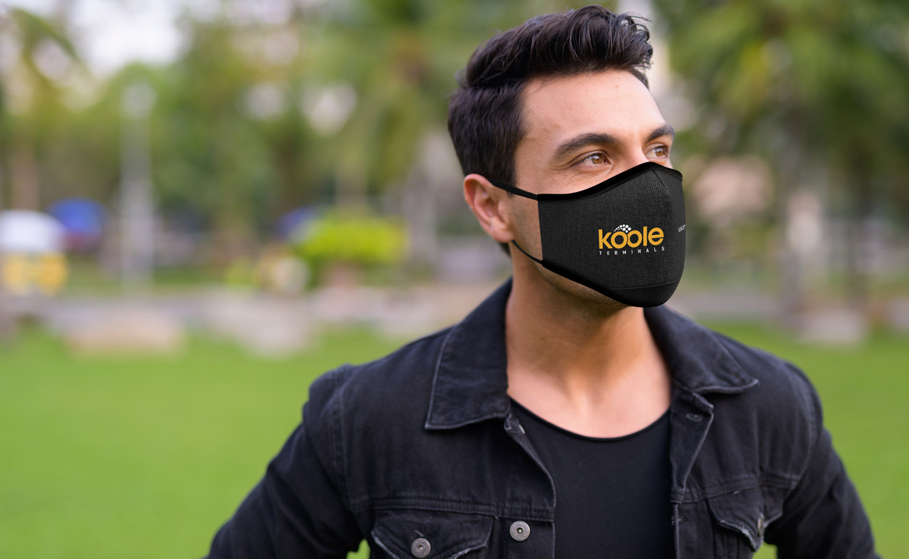 Denim - Printed Face Masks