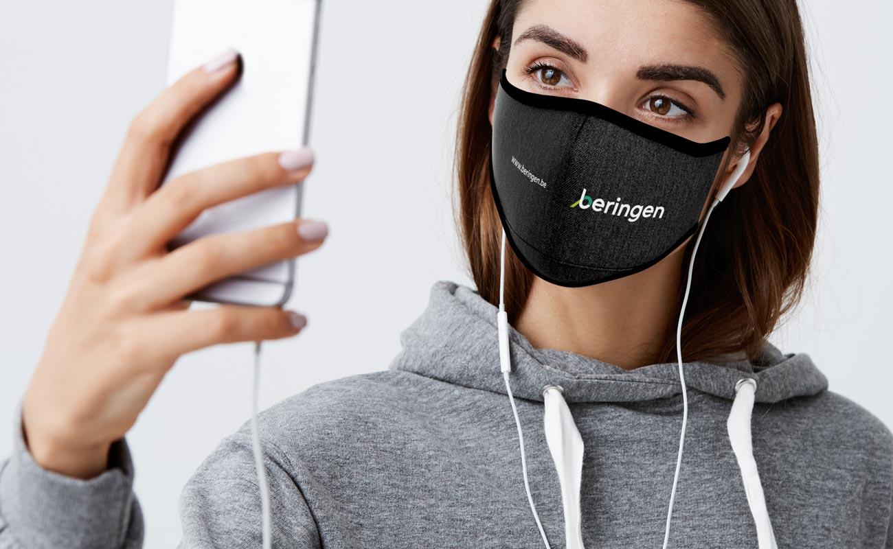 Denim - Personalised Facemasks