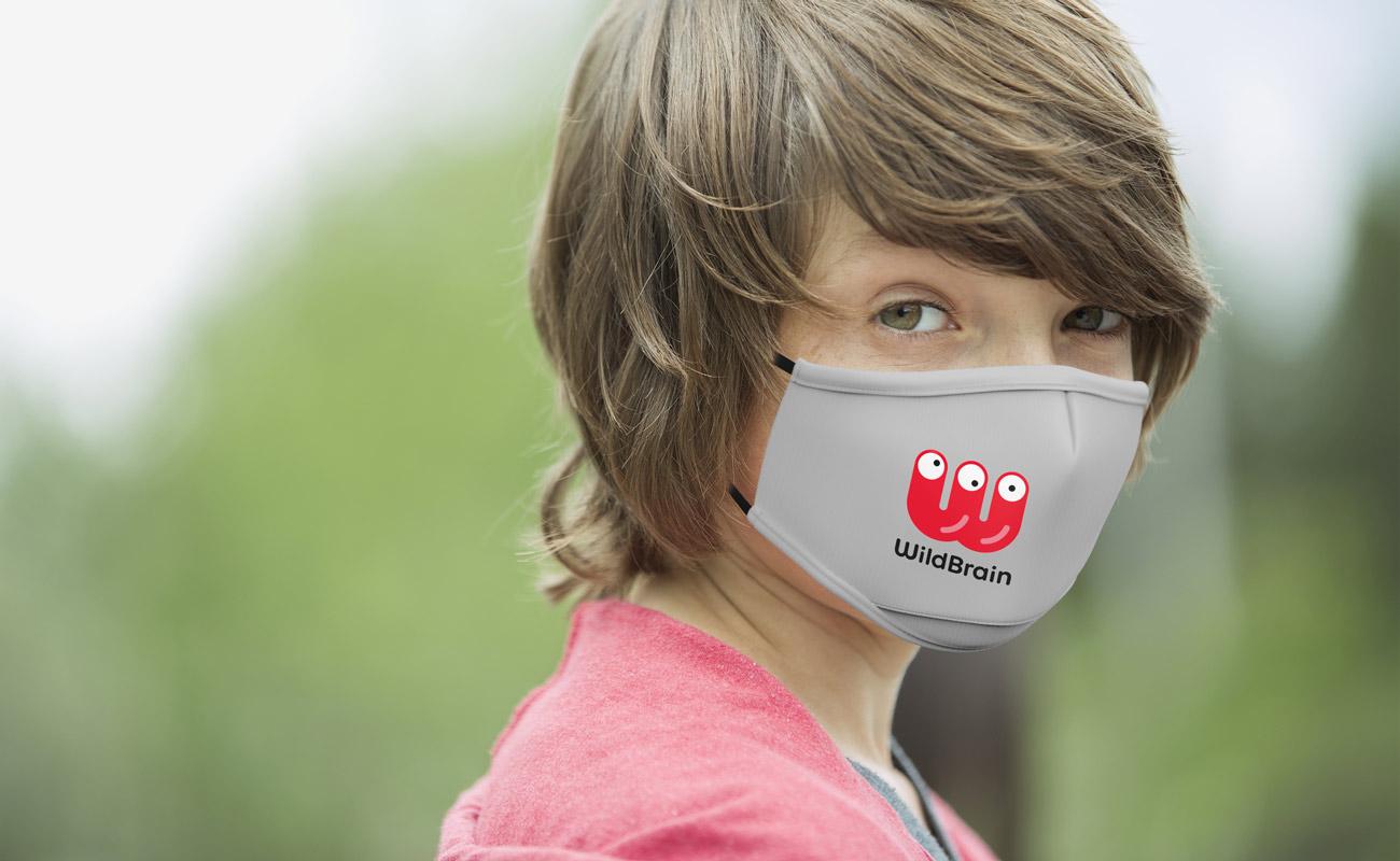 Junior - Personalised Face Mask
