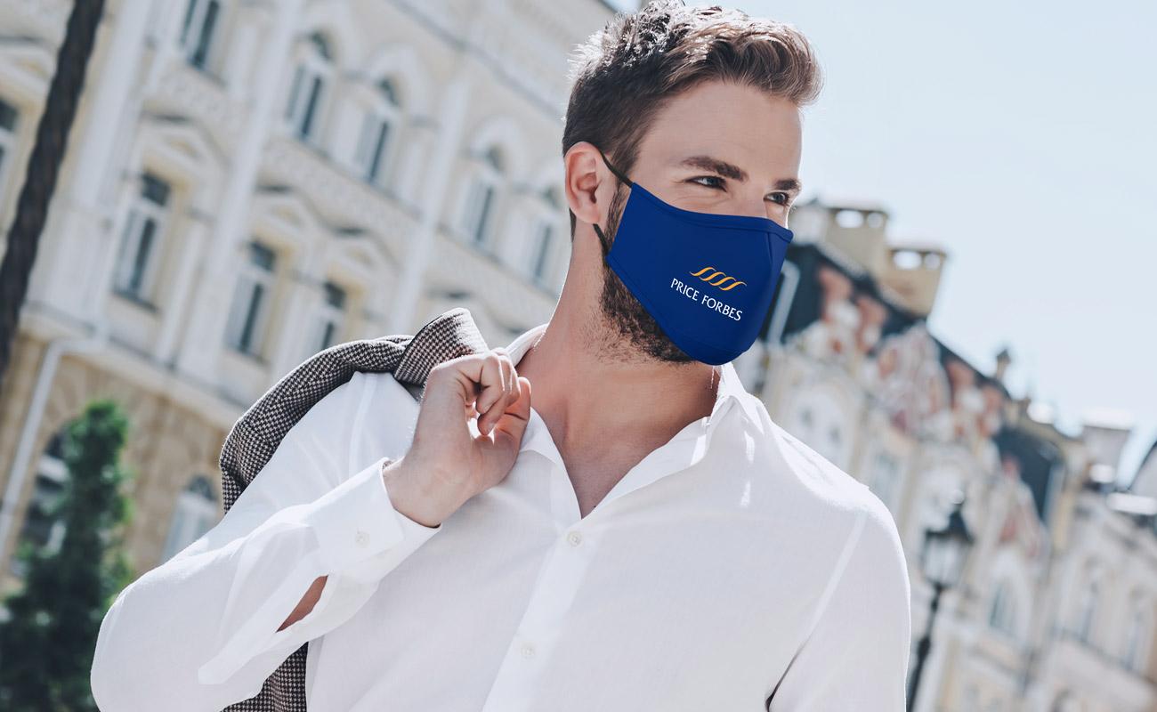Sky - Printed Face Masks